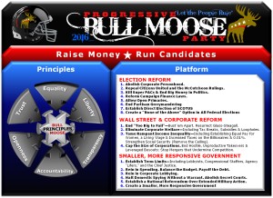 Progressive Bull Moose Party Platform Johnny Welch