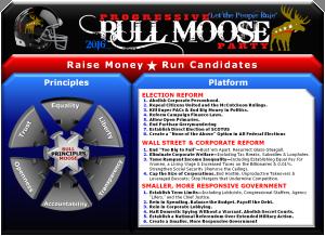 Progressive Bull Moose Party Platform Johnny Welch