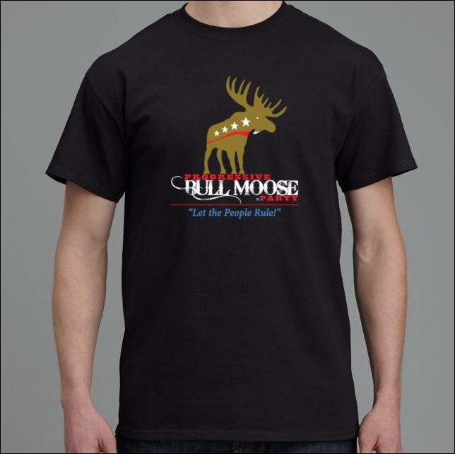 Progressive Bull Moose Party Shirt